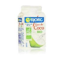Jus - Soda -sirop-boisson Lactee BJORG Eau de coco - Biologique - 50 cl