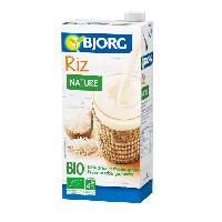 Jus - Soda -sirop-boisson Lactee Bjorg Boisson Riz 1l