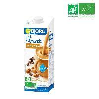 Jus - Soda -sirop-boisson Lactee Bjorg Lait d'Amande Cappuccino 1l