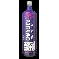 Jus - Soda -sirop-boisson Lactee CHARLIE'S Cassis. Acai et Menthe 1 L