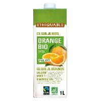 Jus - Soda -sirop-boisson Lactee ETHIQUABLE Pur Jus Orange Bio - 1 L