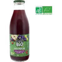 Jus - Soda -sirop-boisson Lactee Jus de raisin. pomme et cranberry bio - 1 L - Generique