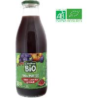 Jus - Soda -sirop-boisson Lactee Jus de raisin. pomme et grenade bio - 1 L - Generique