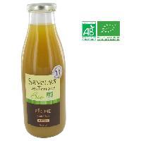 Jus - Soda -sirop-boisson Lactee SAVEURS DES TERROIRS Nectar de peche Roussillon bio - 75 cl - Nectars De Bourgogne