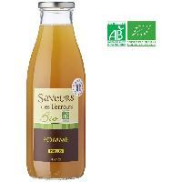 Jus - Soda -sirop-boisson Lactee SAVEURS DES TERROIRS Pur jus de pommes bio - 75 cl - Nectars De Bourgogne