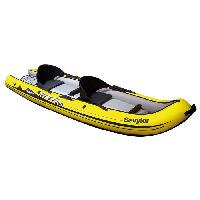 Kayak SEVYLOR Kayak Gonflable Sit on Top Reef 300 - 2 places - Jaune et Noir