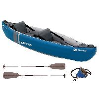 Kayak SEVYLOR Kit Kayak Gonflable Adventure - 2 places - Bleu