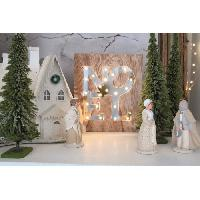 Kit - Coffret Decoration De Noel BLACHERE Tableau LED miroir Noel 21 LED Blanc chaud - L 22 x I 3 x H 25 cm Blachere Illumination