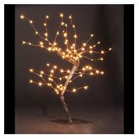 Kit - Coffret Decoration De Noel Decoration Interieure Lumineuse Arbre 100 Micro LED - H 45 cm Feeric Light & Christmas