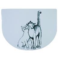Kit Accessoire Pour Repas Set de table Pussy Cat 40 D30 cm pour chat Trixie