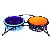 Kit Accessoire Pour Repas Set ecuelles ceramique pour chien - Trixie Generique
