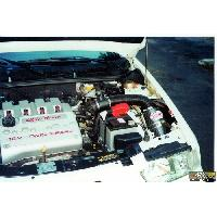 Kit Admission Directe Boite a Air Carbone Dynamique CDA compatible avec Alfa Romeo 145 1.6 TS 16V de 96 a 01