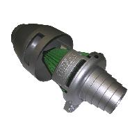 Kit Admission universel Filtre Storm - Admission Directe Universelle - 65-85mm - Titanium - SMTitanium Green