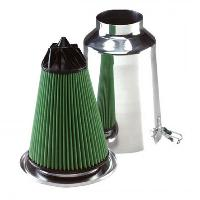 Kit Admission universel Filtre TWISTER - Admission Directe Universelle -75mm - TW75A Aluminium - Green