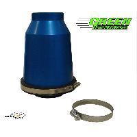 Kit Admission universel Filtre TWISTER - Admission Directe Universelle - Coque Bleue - TW65B Green