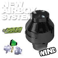 Kit Admission universel Filtre Wind Noir - Admission Directe Universelle - 65 - 75mm - moins de 100CV - WIN - Green
