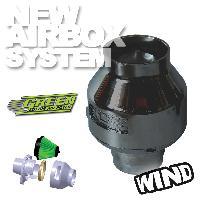 Kit Admission universel Filtre Wind Titanium - Admission Directe Universelle - 65-75mm - moins de 100CV - WIT - Green