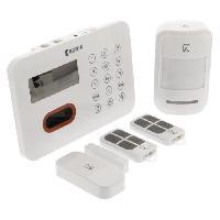 Kit Alarme - Pack Alarme KONIG Pack Alarme maison sans fil 433 MHz 90 dB SAS-ALARM240