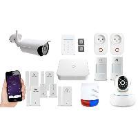 Kit Alarme - Pack Alarme NEW DEAL Pack Alarme maison LAN / WIFI / GSM Live Pro-L15+ Ultimate sans fil connectée