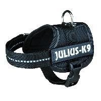 Kit Attache - Sellerie Harnais Power Baby 1XS - 30-40 cm - Noir - Pour pour chien