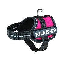 Kit Attache - Sellerie Harnais Power Baby 1XS - 30-40 cm - Rouge - Pour chien