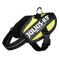 Kit Attache - Sellerie JULIUS-K9 Harnais Power IDC Baby 2/XS?S: 33?45cm jaune fluo pour chien - Julius K9