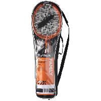 Kit Badminton - Pack Badminton - Ensemble Badminton STIGA Set de badminton Family Fs - Rouge et noir