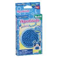 Kit Bijoux AQUABEADS Perles Classiques Bleues