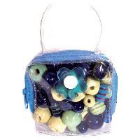 Kit Bijoux JLB Kit Mini sac a  Malice - Bleu - Generique