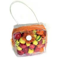Kit Bijoux JLB Kit Mini sac a Malice - Orange - Generique