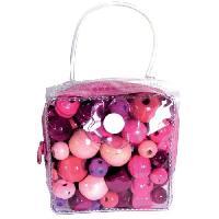 Kit Bijoux JLB Kit Mini sac a Malice - Rose - Generique