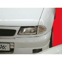 Kit Carrosserie - Bas De Caisse - Aileron - Spoiler - Becquet - Lame - Parechoc - Calandre - Elargisseur D'aile Paupieres de phares pour Opel Astra F 94-98 - ADNAuto