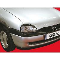 Kit Carrosserie - Bas De Caisse - Aileron - Spoiler - Becquet - Lame - Parechoc - Calandre - Elargisseur D'aile Paupieres de phares pour Opel Corsa 93-00 - PROMO ADN - ADNAuto