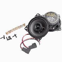 Kit Coaxiaux 2 voies Kit Installation haut-parleur KHP66020-11 pour Peugeot 107 206 Boxer ap01 - 10cm 60W