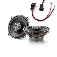 Kit Coaxiaux 2 voies Kit Installation haut-parleur KICU130-5 pour Peugeot 106 206 - ICU130 - 13cm 60W RMS