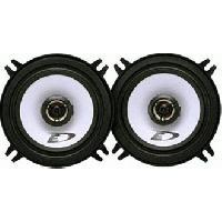 Kit Coaxiaux 2 voies SXE-1325S - 2 Haut-Parleurs Coaxiaux Specifiques 2 voies - 13cm - 200W Max - Serie Custom Fit