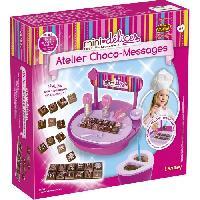Kit De Cuisine Creative - Jeux Culinaires Mini-Delices Mon Atelier Choco-Messages