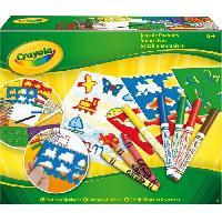 Kit De Dessin Crayola - JEUX DE POCHOIRS - Activites pour les enfants