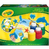 Kit De Dessin Crayola - KIT PEINTURE A L EPONGE - Activites pour les enfants