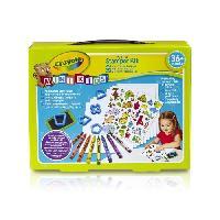 Kit De Dessin Crayola - Mini Kids - Mon 1er Kit de tampons - Coloriage pour enfant et tout petit