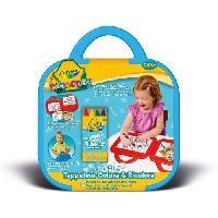 Kit De Dessin Crayola - Mini Kids - Mon 1er pupitre effacable a sec -Pochette a dessin- - Coloriage pour enfant et tout petit