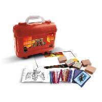 Kit De Dessin JURASSIC WORLD Malette de timbres et dessins - Generique