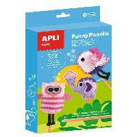 Kit De Dessin Kit Funny Pencils animaux
