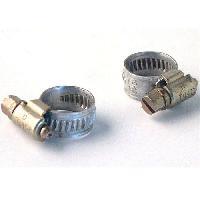 Kit De Fixation 2 Colliers de Serrage Metalliques 10 a 16 m