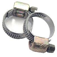 Kit De Fixation 2 Colliers de Serrage Metalliques 8 a 12 mm