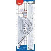 Kit De Geometrie Kit de 3 pieces de tracage Geometric