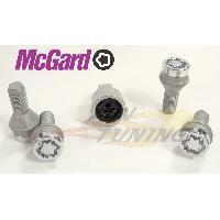 Kit De Visserie 4 vis - 12x125 - L24.1 - H17 - Conique - Chrome - Antivol de Roues - 27216SU McGard