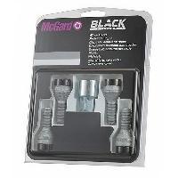 Kit De Visserie 4 vis - 14x125 - L28.2 - H17 - Conique - Antivol de roues - Chrome McGard