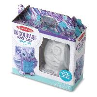 Kit Decopatch MELISSA et DOUG Decoupage Devenu Facile - Hibou