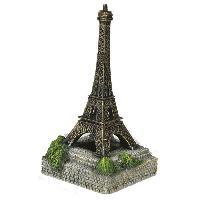Kit Decoration De L'habitat Aqua deco Tour Eiffel - 108x108x208mm - Pour aquarium